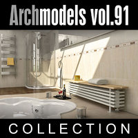 3d model archmodels vol 91 radiators