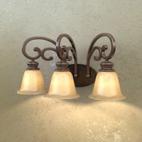 3d sconce lights model