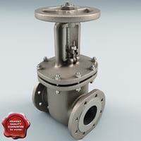 maya gate valve