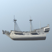 3d pirate ship
