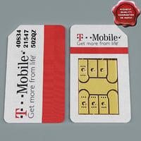 3d model sim card v3
