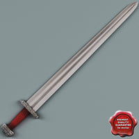 viking sword obj