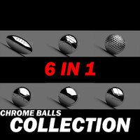 rugby ball chrome materials 3ds