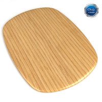 chopping board 01 3d model