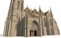 3ds max matthias church budapest