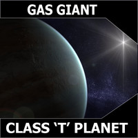 3dsmax blue gas giant
