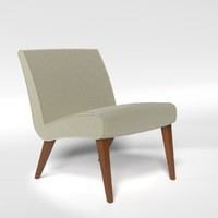 3d model lounge chair