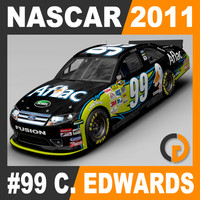 3d model of nascar 2011 carl edwards