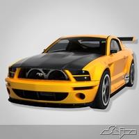 Car Ford Mustang GTR