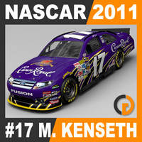 3d model nascar 2011 matt kenseth