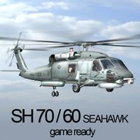 3d model sh-70 60 seahawk