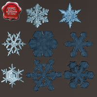 Snowflakes Collection V3