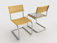 3ds thonet s40 chair