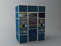Lottery Vending Machine