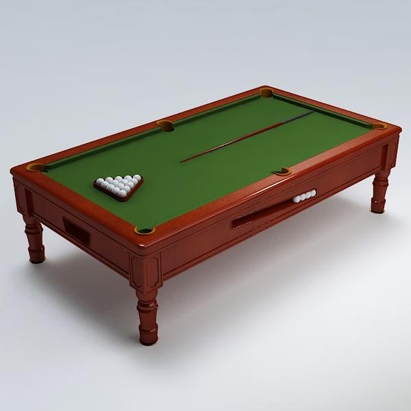 Pool table007.rar