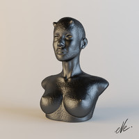 sculpture 3d 3ds