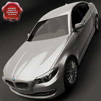 3d model of bmw 5 series 2011