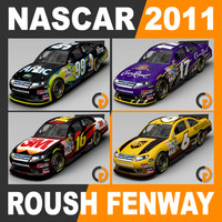 Nascar 2011 Pack - Roush Fenway Racing Team Cars
