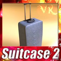 suitcase 02 - 3d model