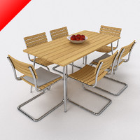 Thonet Outdoor Dining Set