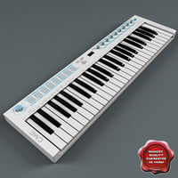 USB MIDI Keyboard U-Key White