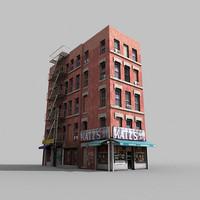 3d model architectural shop