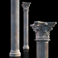 3d decorate classical model
