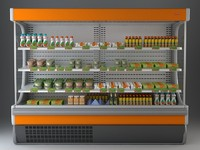 Refrigerated Display Case 2