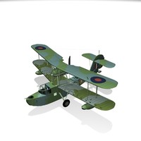 3d supermarine walrus model