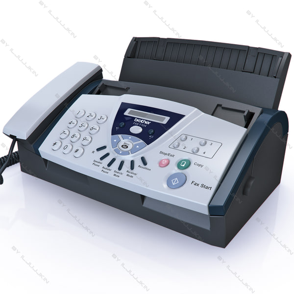 brothers fax machine