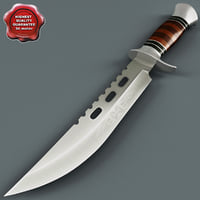 knife columbia v2 3d 3ds