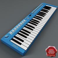 USB MIDI Keyboard U-Key Blue
