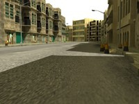 3ds max street scene
