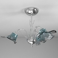 lamp ceiling light obj
