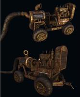 heavy mach 3d obj