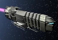3d model medium cruiser