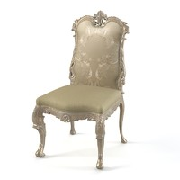 Jumbo classic dining chair baroque wood carving carved rococo rococo