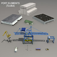 Cranes & Port Elements (Toolkit)