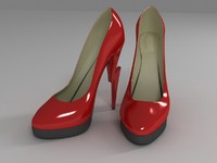 shoes lightning 3d model