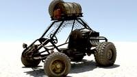 desert buggy 3d model