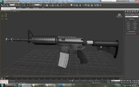M4A1 with attachments