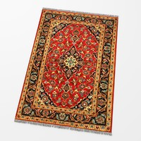 carpet oriental persian 3d max