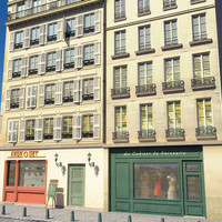 Paris Buildings and street