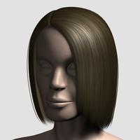 maya hair character mesh