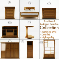 Traditional Bedroom Furniture Set