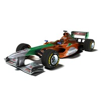 f1 1 car 3d model