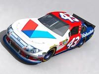 3ds max 2011 nascar car