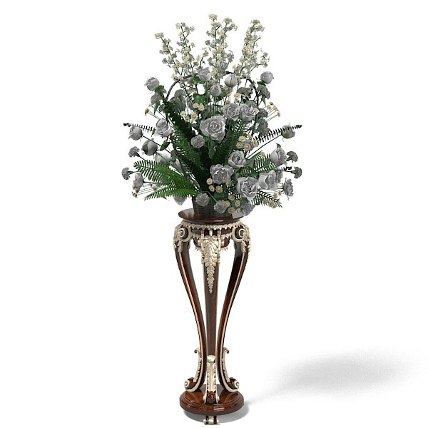 jumbo baroque classic flower plant stand table bouquet wild.jpg