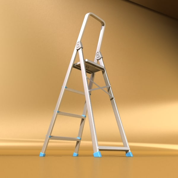 3d ladder - - Ladder - High Detailed... by VKModels