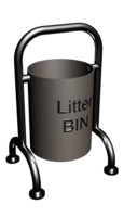 OLB1 (Outdoor Litter Bin)(1)